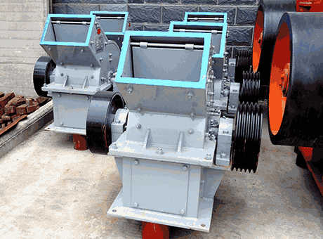 tangible benefitssmall ganguehammer crusher price in