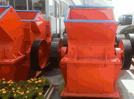 single stage hammer crusher, single stage hammer crusher