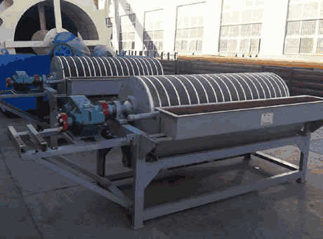 high end large cobblestone spiral chute separator
