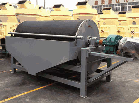 Teheran low price small basalt magnetic separator for sale