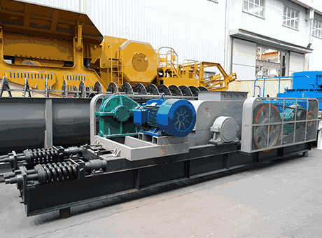 Large Bauxite Roll Crusher