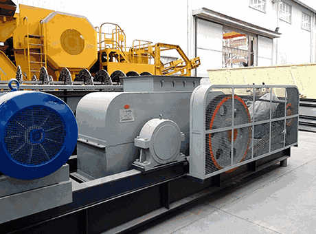 Used Three Roll Crusher