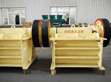 Tons Small Capacity Steel Slag Crushers jaw Crusher