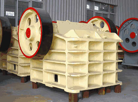 used iron ore crushers