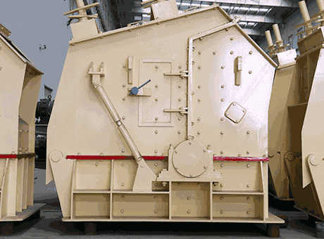 2014 impact crusher used in sand making production line