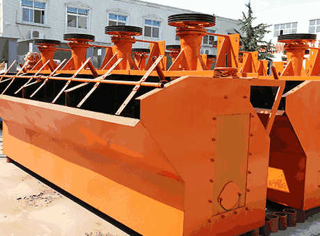Nabeul high quality new copper mine flotation cell sell at