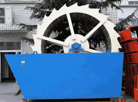 low price portable pyrrhotite sand washing machine