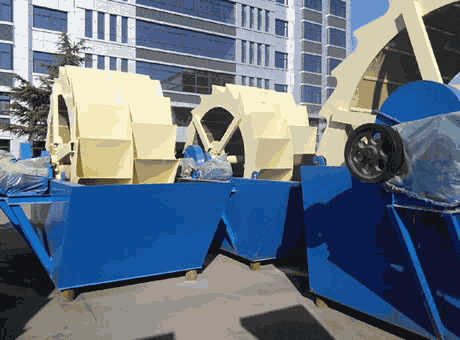 Konakry low price portable barite sand washing machine sell