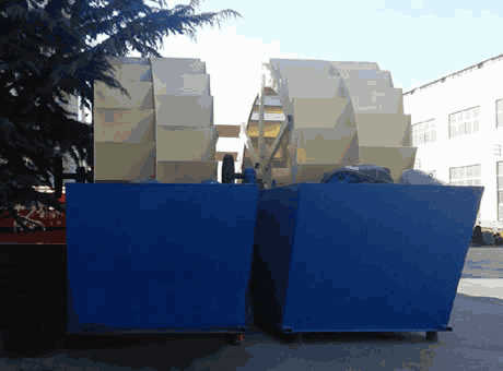 Ghent high quality medium iron ore sand washer sell it at