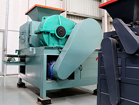 efficient new magnetite briquetting machine in South
