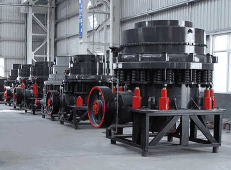dp series single cylinderhydraulic cone crusher