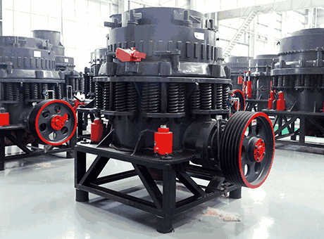 mine cone crusher maintanence