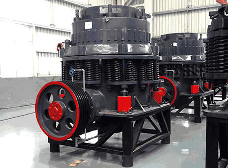 Mineral processing cone crusher, flotation machine
