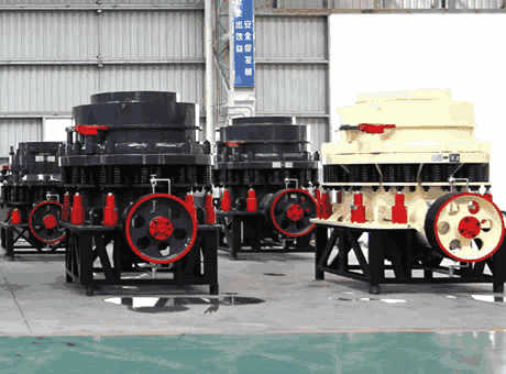 tangible benefitsportable concretesymons cone crusher