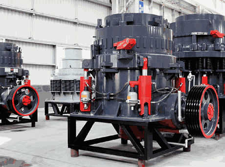 Cone Crushers   Mineral Processing & Metallurgy